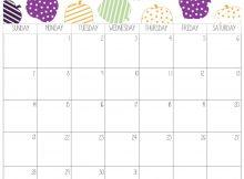 Calendar October 2018 Time Table