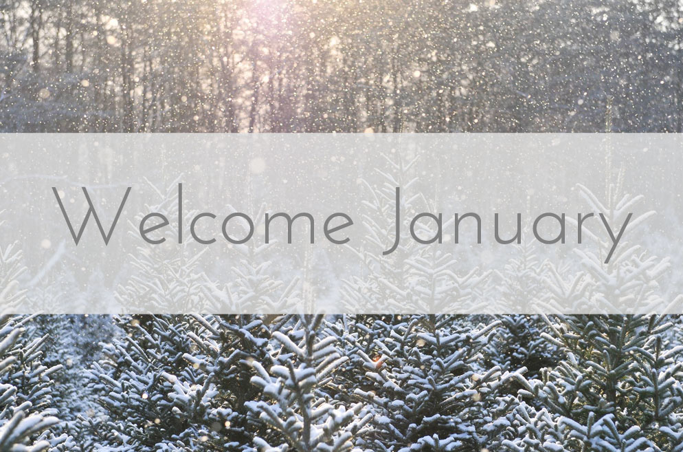Welcome January Images Pictures