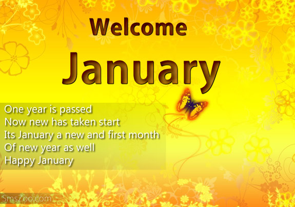 Welcome January Images Quotes Wishes