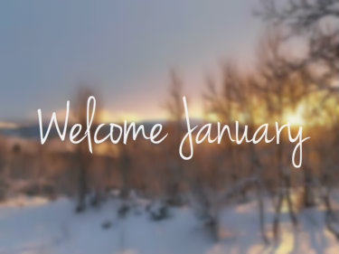Welcome January Images Tumblr