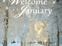 Welcome January Photos