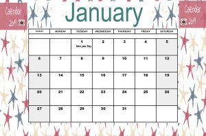 January 2019 Canada Holidays Calendar