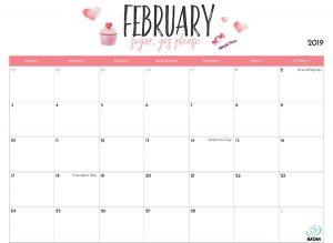 February Printable