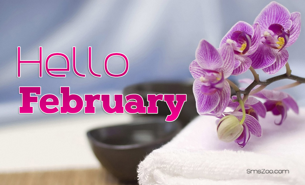 Welcome February HD Images