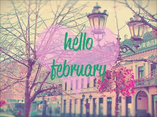 Welcome February Images Gif
