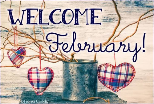 Welcome February Pictures
