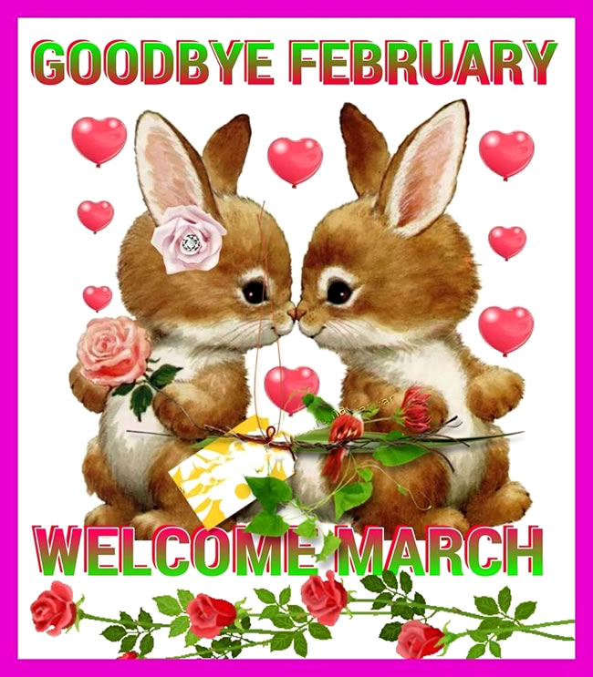 Cute Welcome March Images