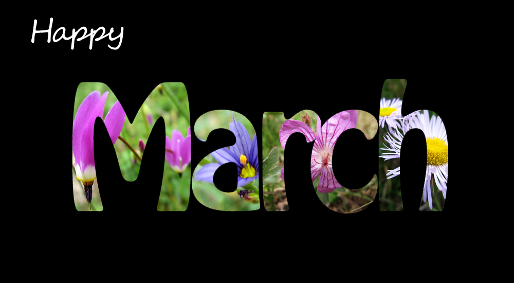 Happy March Images