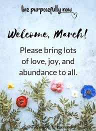 Welcome March Images Tumblr
