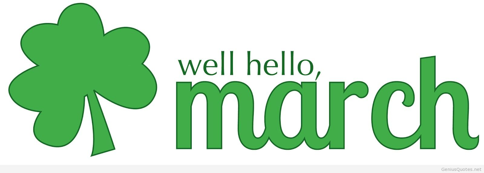 Welcome March Images for Facebook
