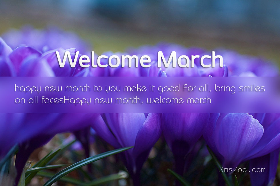 Welcome March Wallpapers