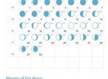 April 2019 Full Moon Calendar
