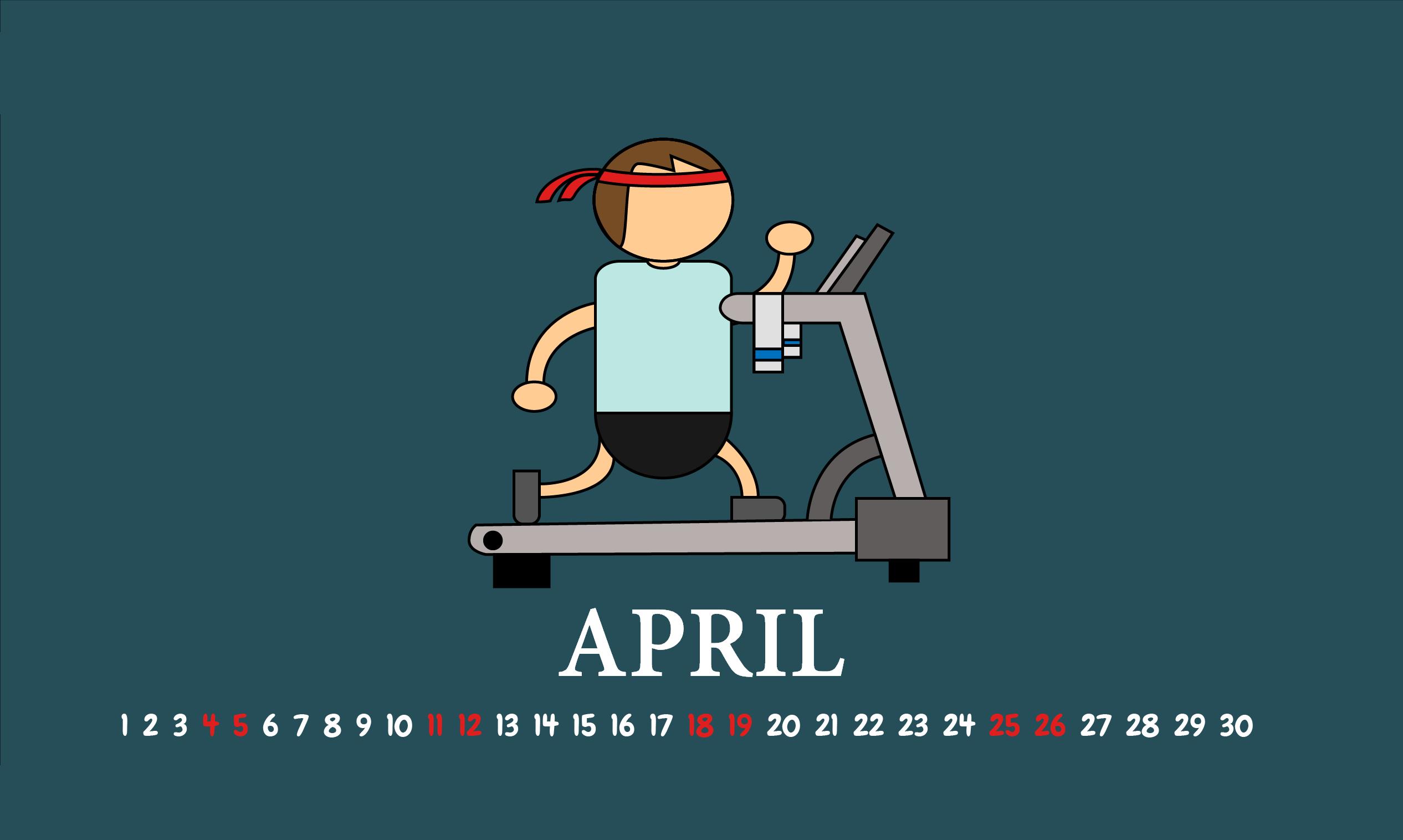 April 2020 Desktop Background Wallpaper