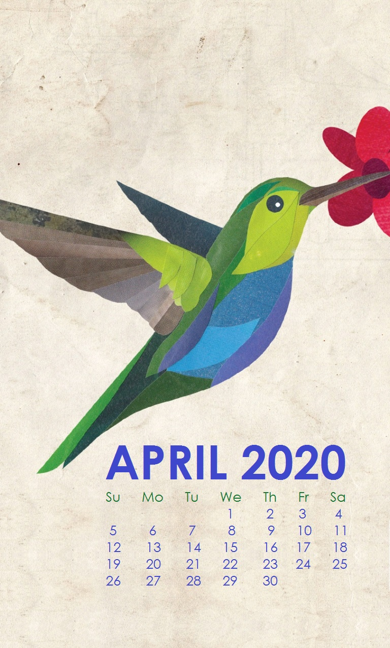 April 2020 Smartphone Background