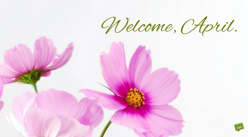 Welcome April Birth Flower Images