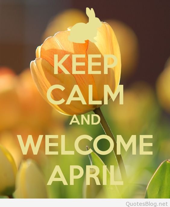 Welcome April Images for WhatsApp
