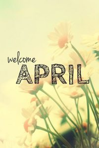 Welcome April Images for iPhone