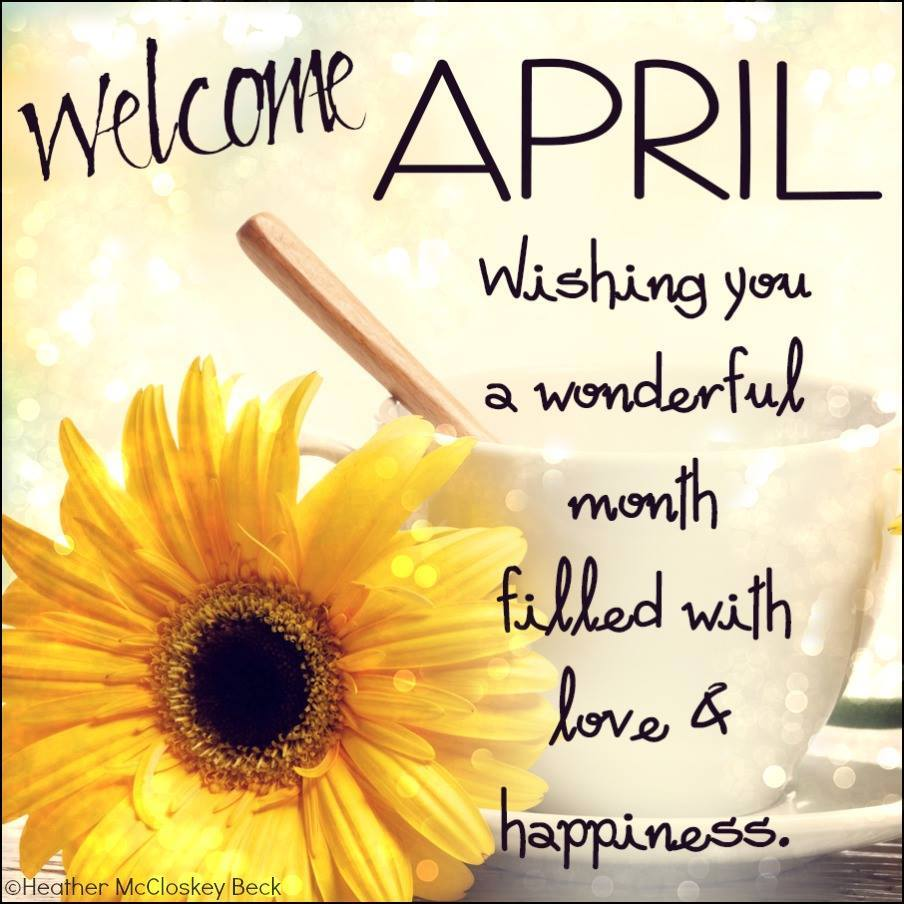 Welcome April Images