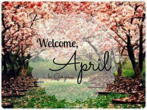 Welcome April Photos