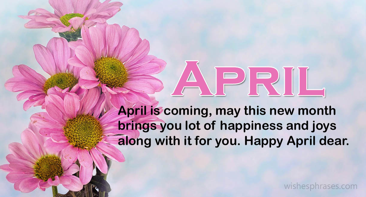 Welcome April Positive Quotes