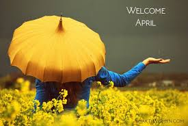 Welcome April Wallpaper