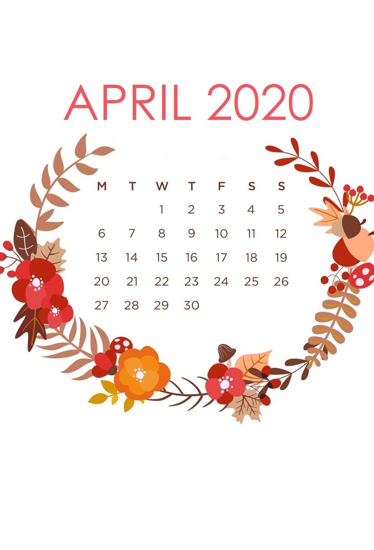 iPhone April 2020 Floral Wallpaper