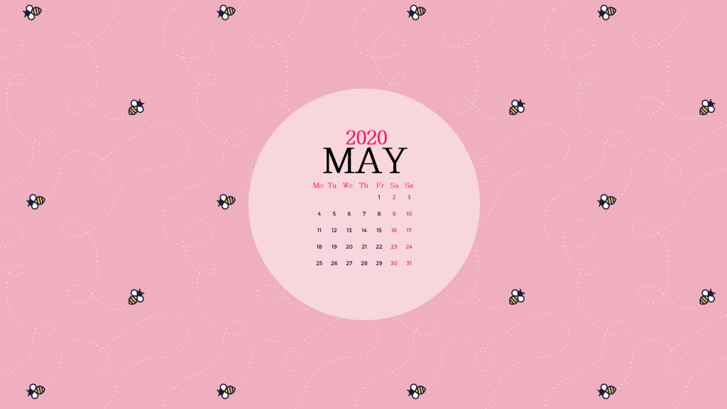 Best May 2020 Desktop Wallpaper Calendar