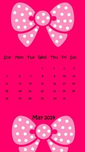 Cute May 2019 iPhone Wallpaper