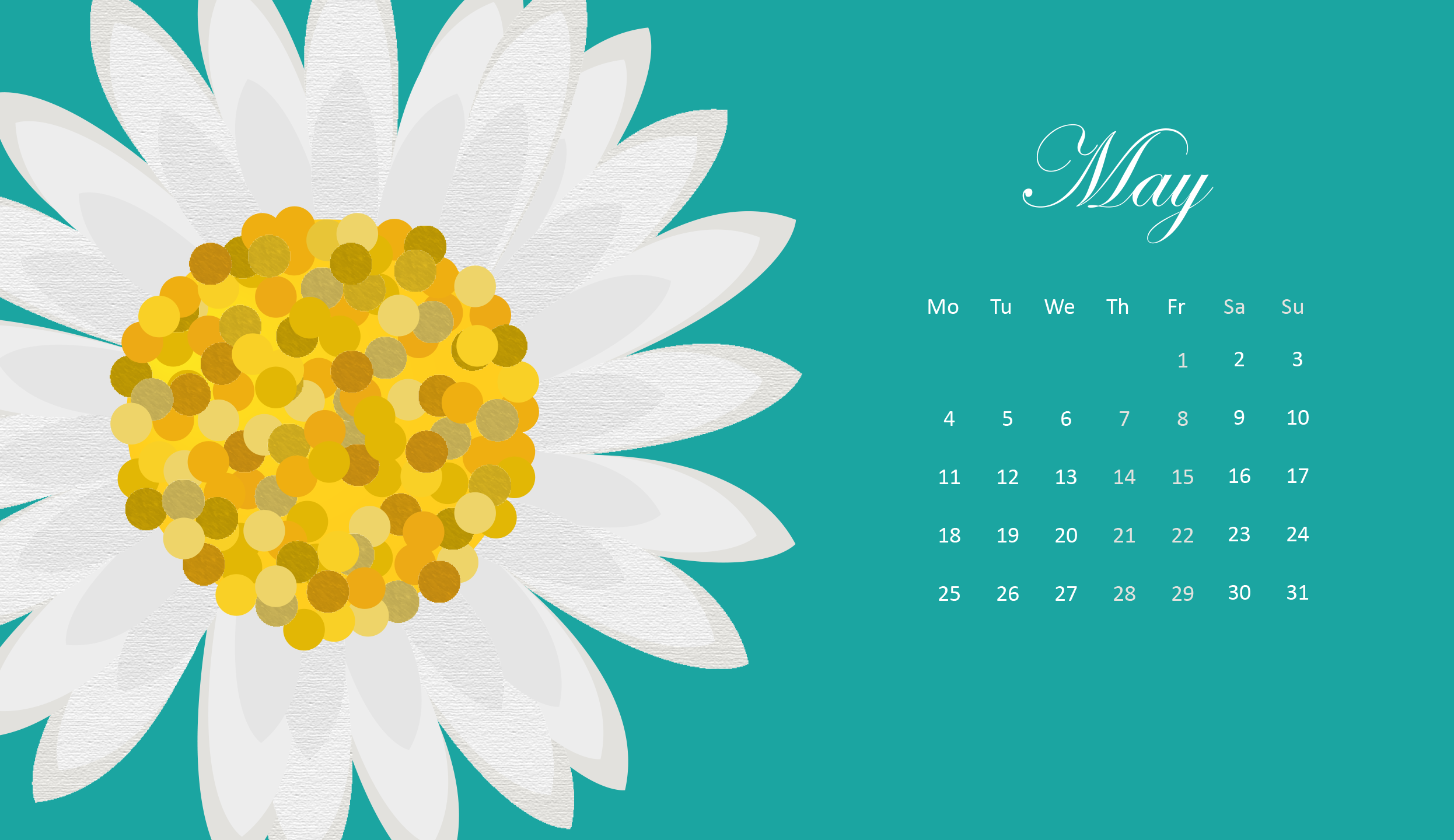 May 2020 Wallpaper Calendar