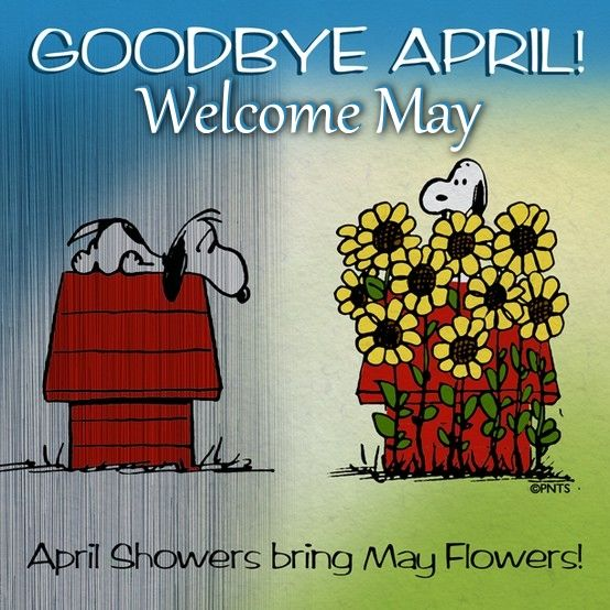 Goodbye April Welcome May Images