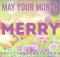May 2020 Floral Background