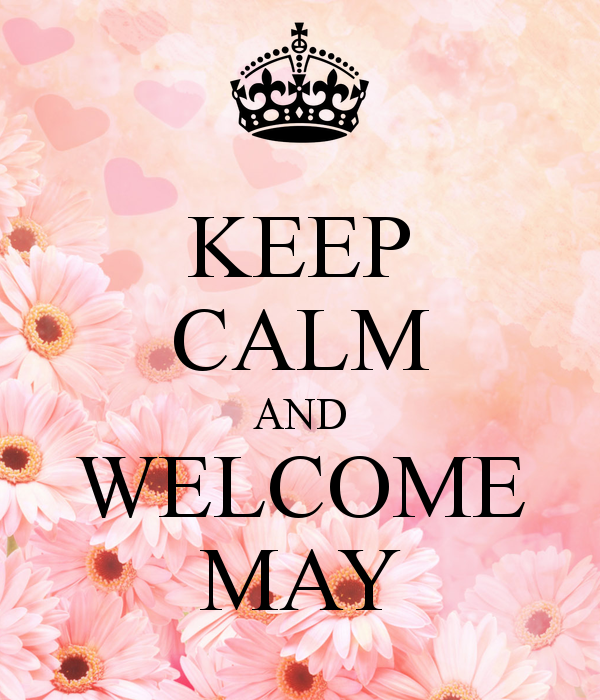 Welcome May Images for WhatsApp