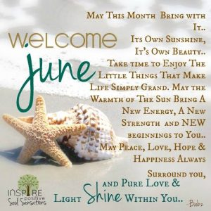 Welcome June Images Quotes