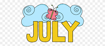 Welcome July Images Clipart
