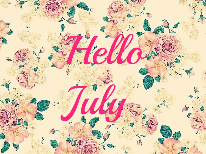 Welcome July Wallpaper