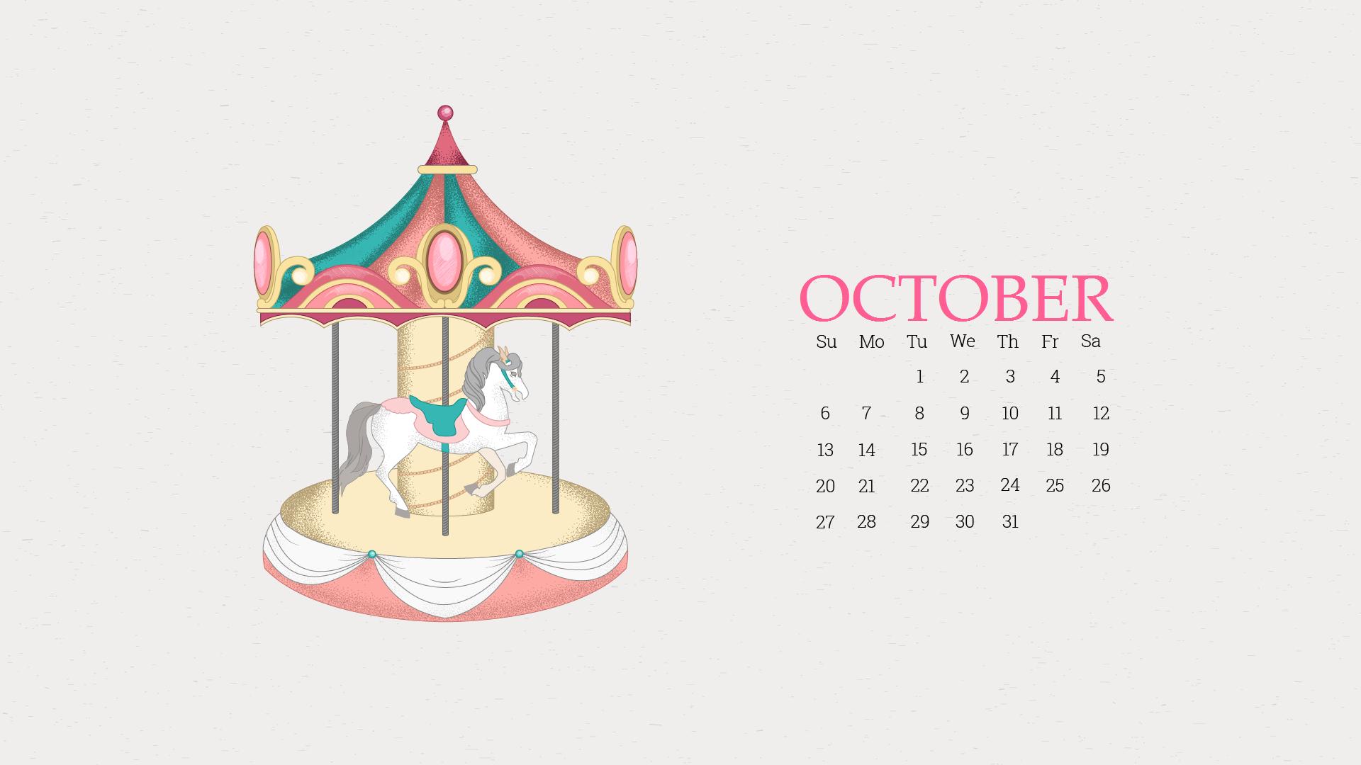 Beautiful October 2019 Desktop Background Wallpaper
