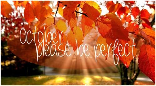 Welcome October Photos