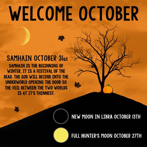 Welcome October Wallpaper