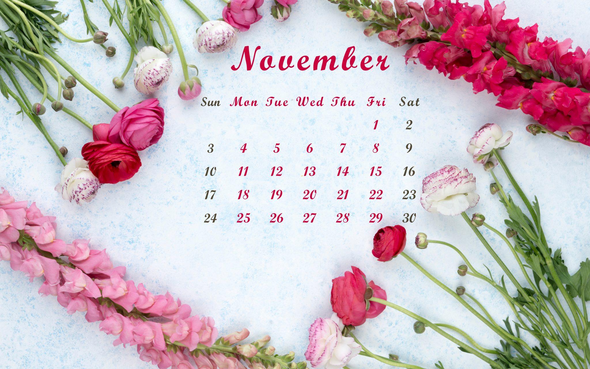 November 2019 Wallpaper Background