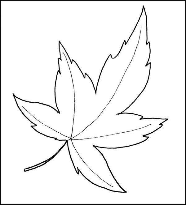 Fall Leaf Pattern Printable